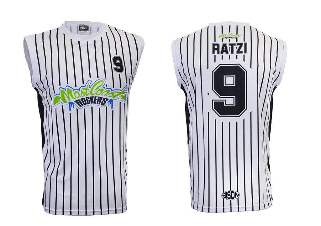 Basketbalový dres od výrobce Bison Sportswear.