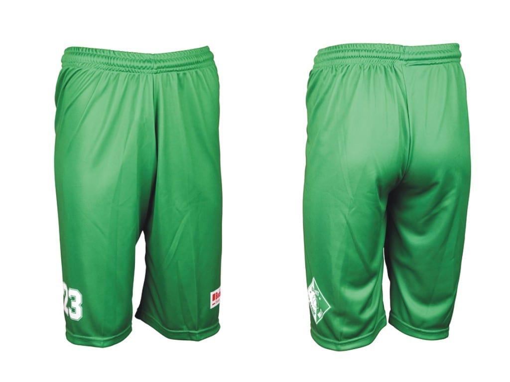 Basketbalové trenýrky Bison Sportswear.