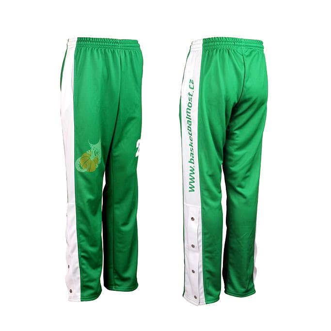 Basketbalové převlečné kalhoty Bison Sportswear.