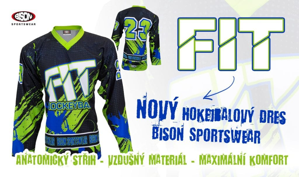 Nový hokejbalový dres FIT.