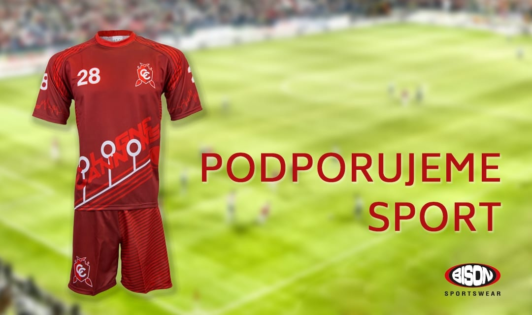 Fotbalový turnaj Pragacup 2017 podporuje Bison Sportswear