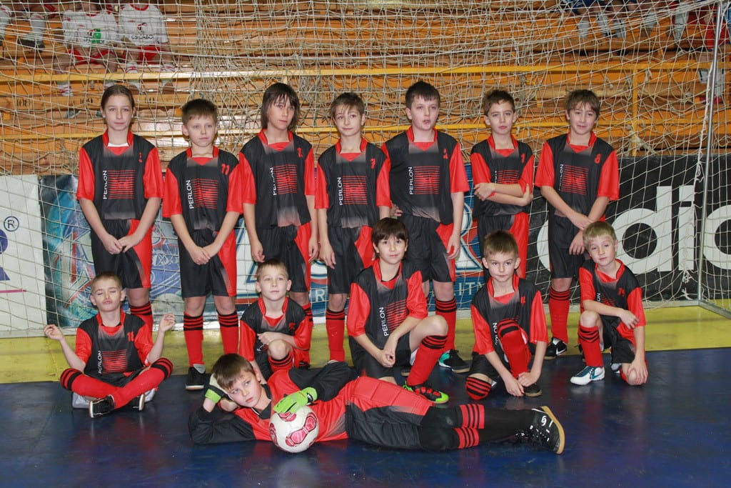 Fotogalerie týmů ve vyrobených fotbalových dresech od Bison Sportswear.