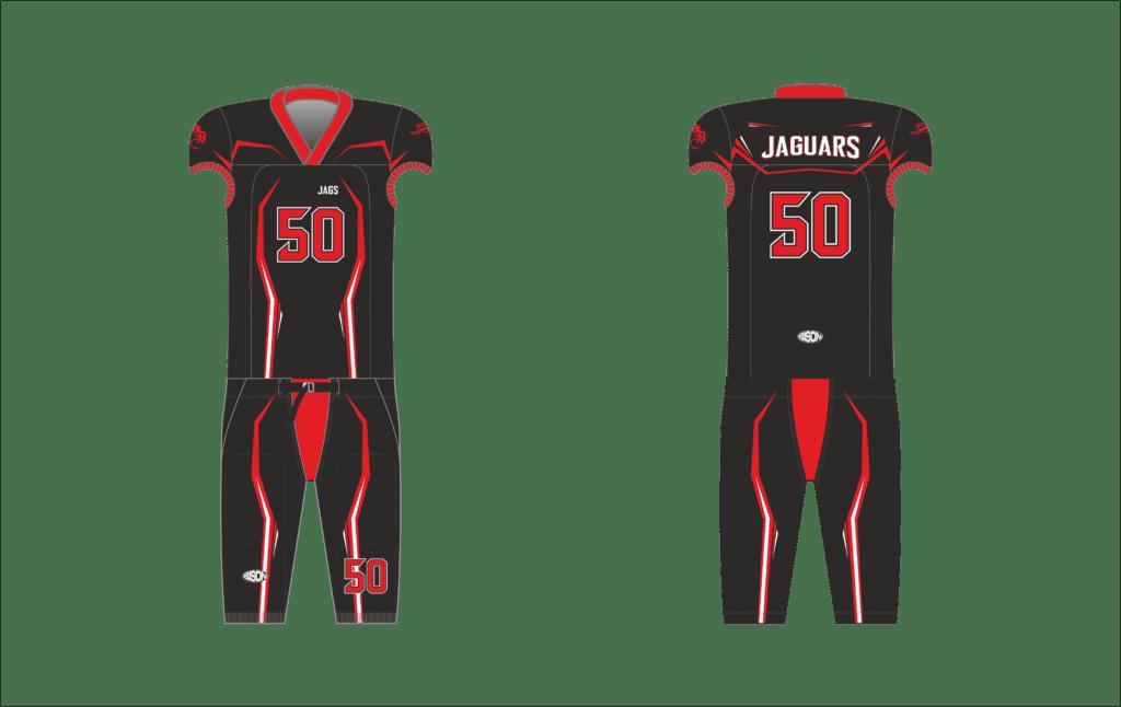 Grafika dresi na americký fotbal Bison Sportswear