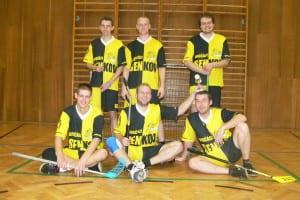 Florbalový tým v dresech Bison Sportswear
