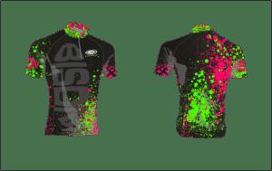 Návrh grafiky cyklistického dresu Bison Sportswear