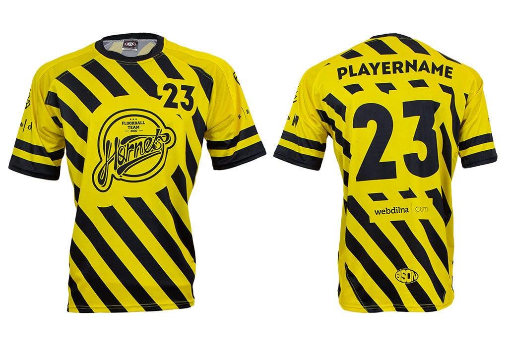 Florbalový dres - výrobce Bison sportswear, výroba florbalových dresů a týmového oblečení.