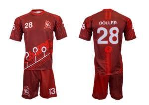 Fotbalový komplet - dres a trenýrky z výroby Bison Sportswear
