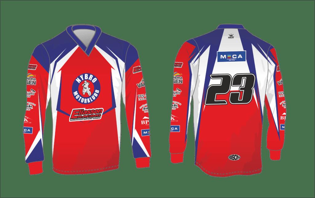návrh motokrosového dresu Bison Sportswear