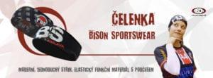 Sportovní čelenka Bison Sportswear..