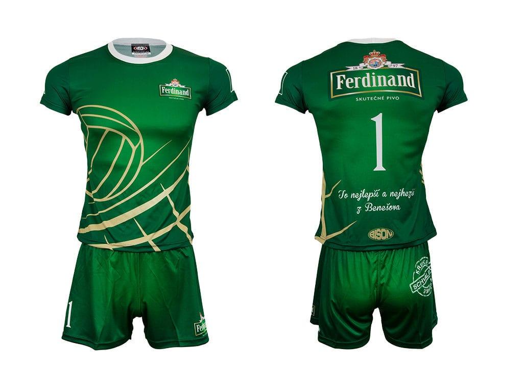 Volejbalový dres a trenýrky od výrobce Bison Sportswear