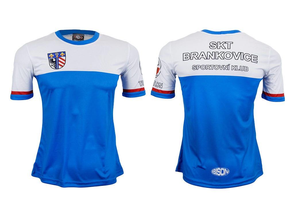 Dres atletického klubu od výrobce Bison Sportswear.