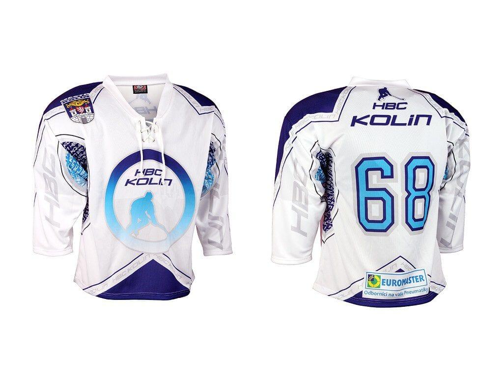Hokejbalový dres z výroby Bison Sportswear.