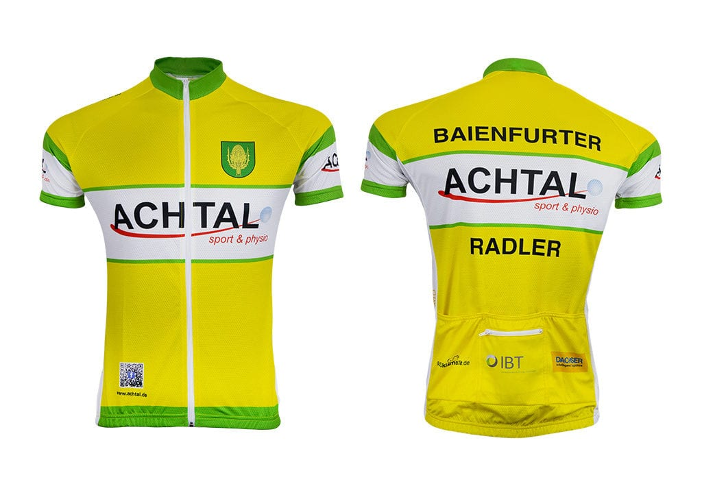 Cyklistické oblečení od výrobce Bison Sportswear.