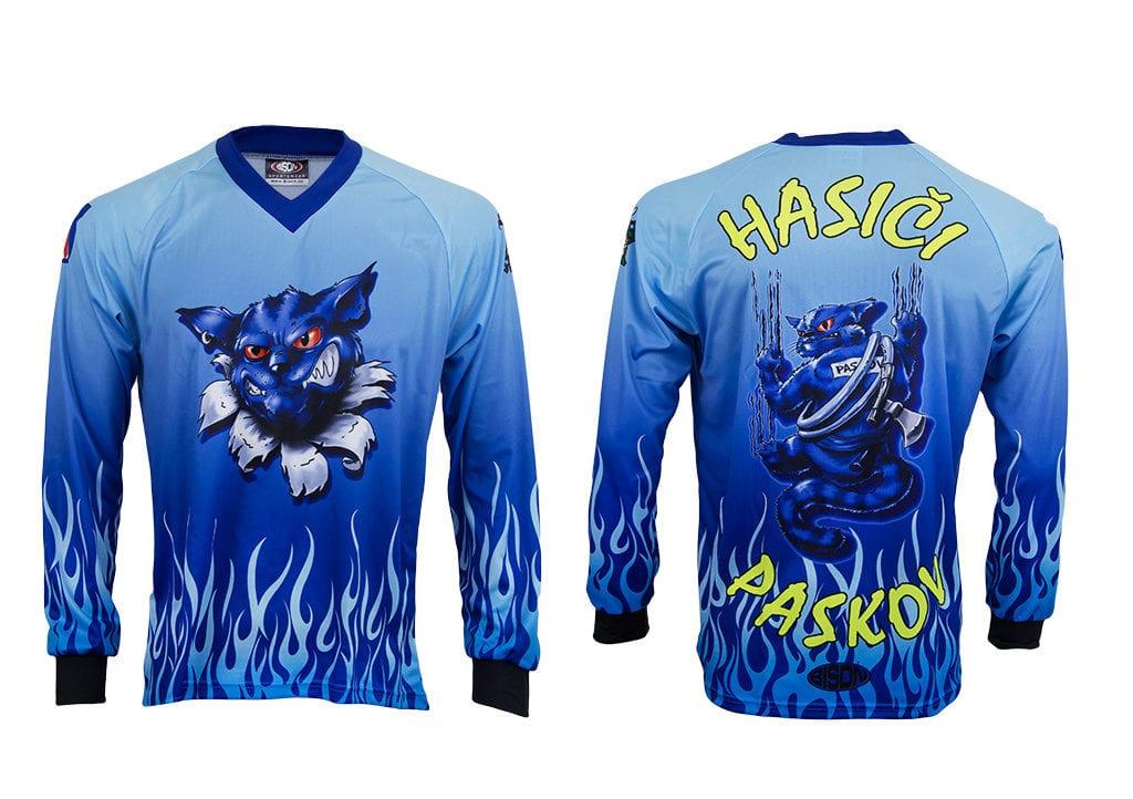 Hasičský dres od výrobce Bison Sportswear.