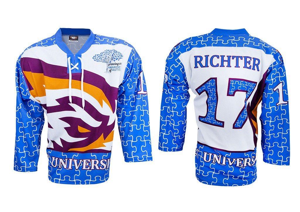 Hokejový dres - výrobce Bison sportswear, výroba hokejových dresů a týmového oblečení.