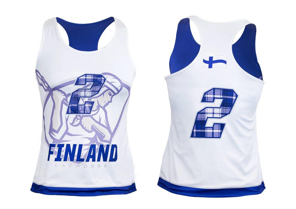 Atletický dres ve střihu RACERBACK od výrobce Bison Sportswear