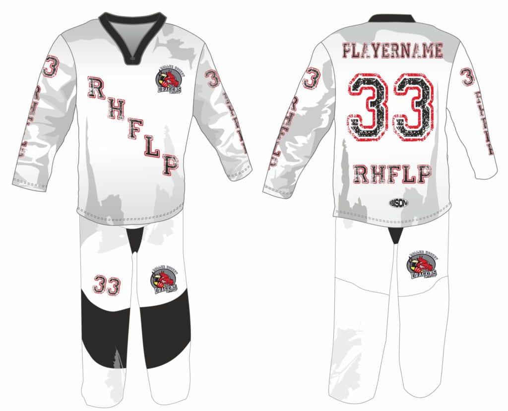 In-Line Hockey náhled grafiky Bison Sportswear