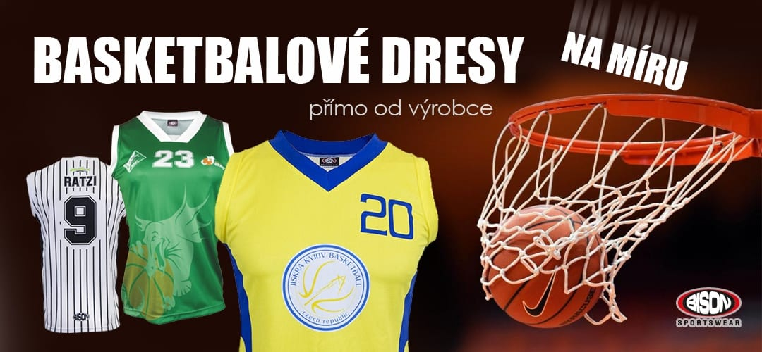 Basketbalové dresy Bison Sportswear