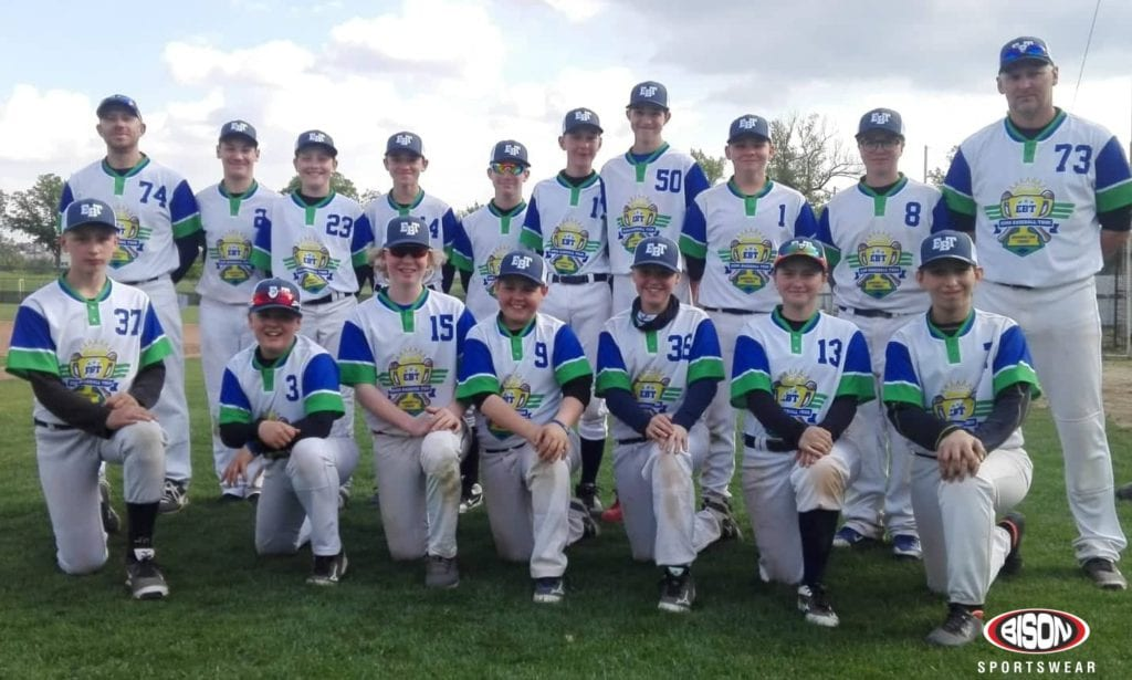 Baseballový tým v dresech Bison Sportswear