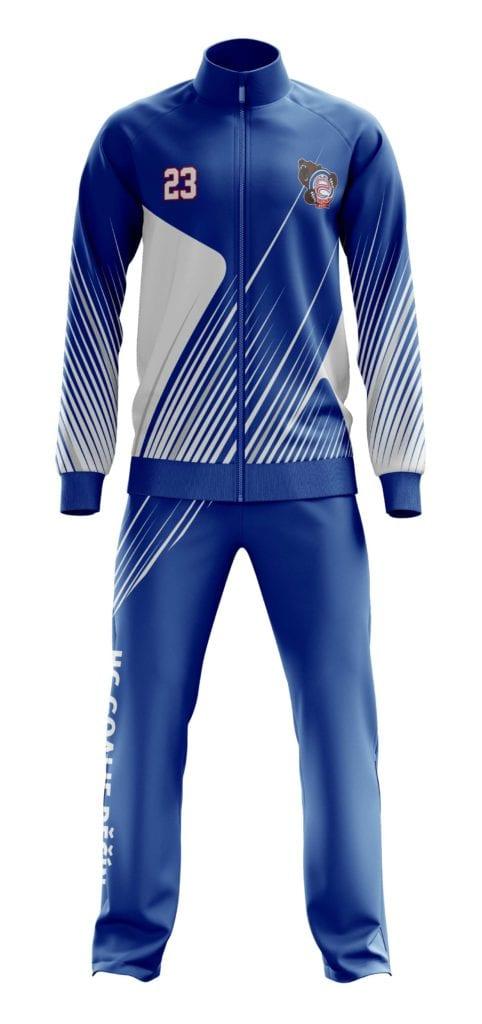 Grafický návrh týmové soupravy Bison Sportswear