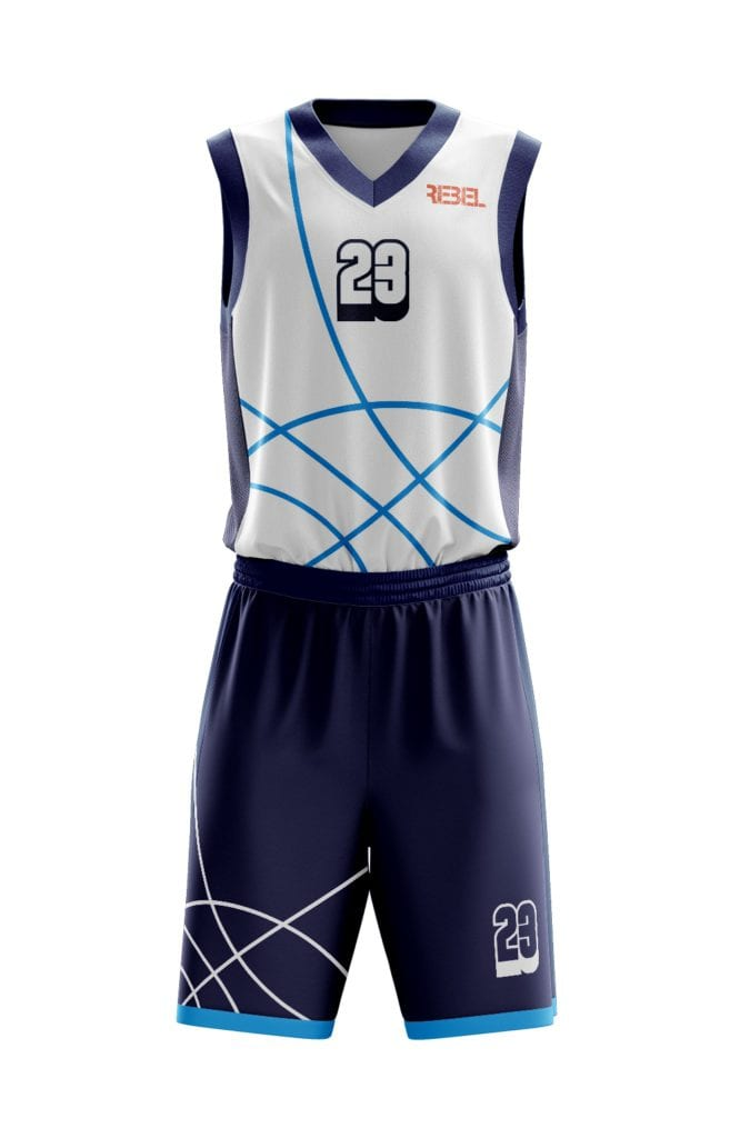 Basketbalový komplet z výroby Bison Sportswear