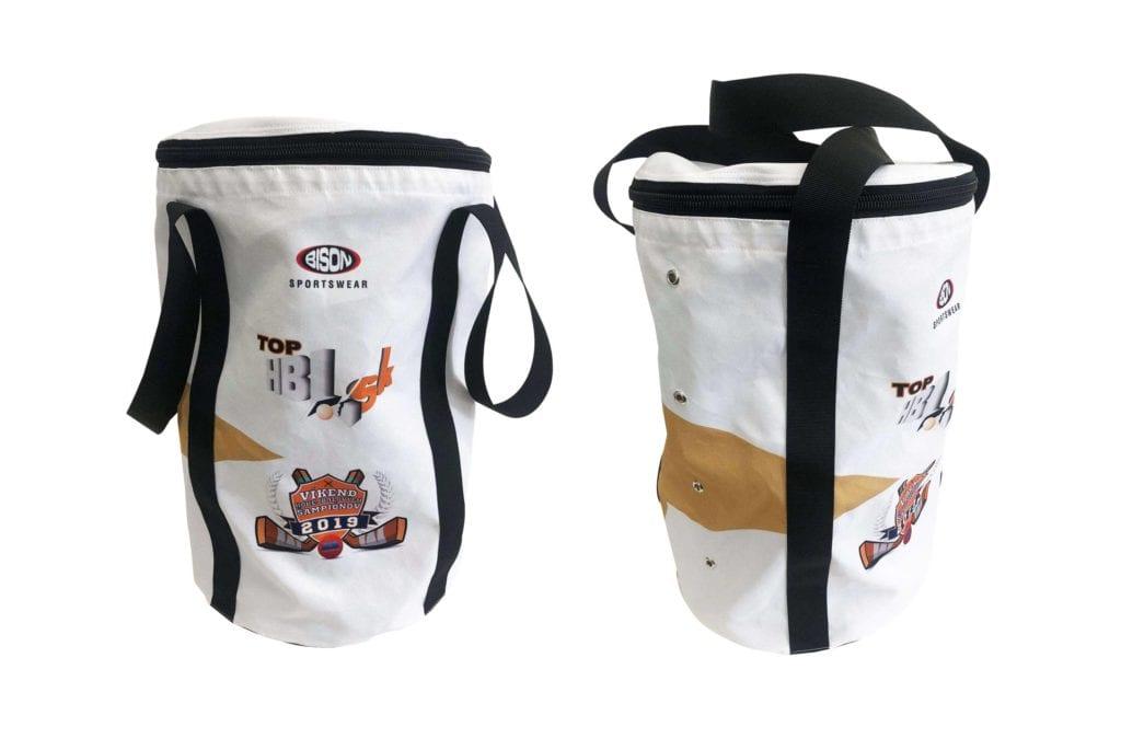 Týmový vak na hokejbalové, florbalové nebo lakrosové mýčky.