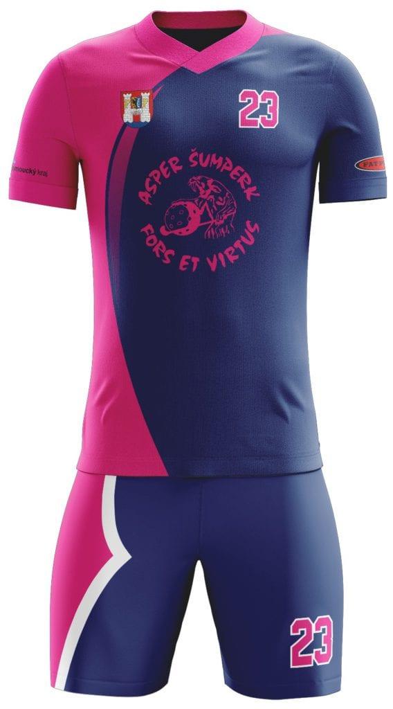 Návrh grafiky florbalového dresu Bison Sportswear