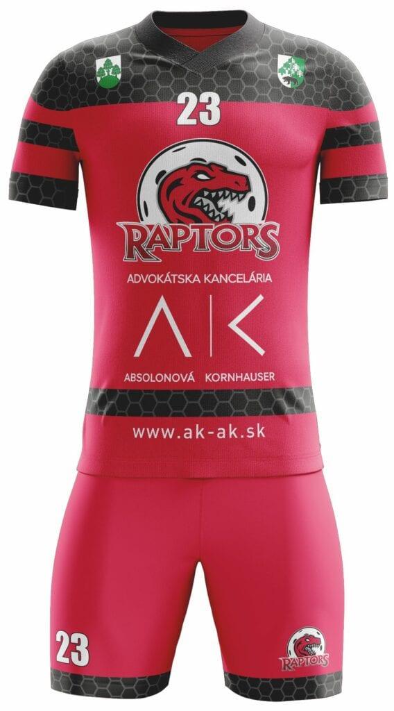 FBK Raptors 2020 red pd