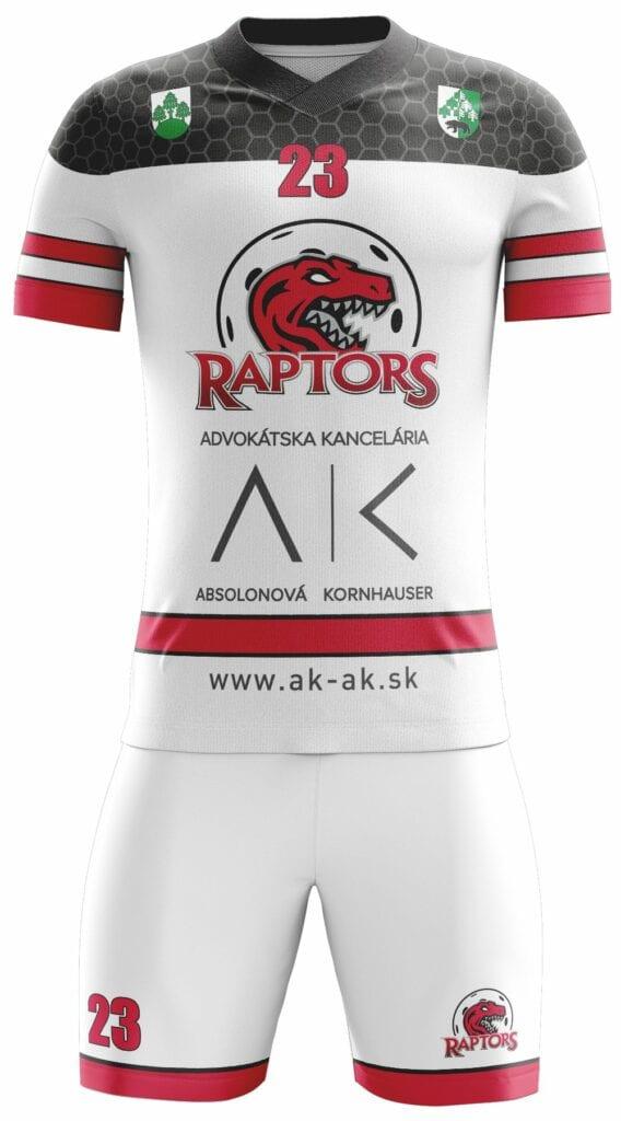 FBK Raptors 2020 white pd